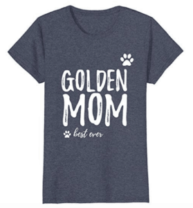 best golden mom ever shirt