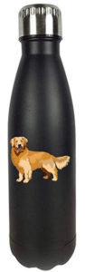 golden retriever mom water bottle