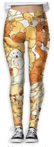 golden retriever mom leggings