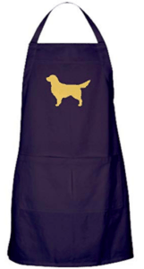golden retriever mom apron