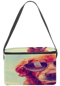 golden retriever mom lunch box