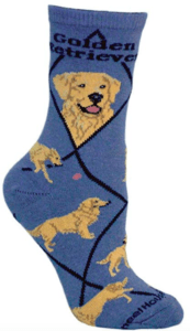 golden retriever mom socks