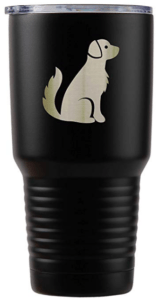 golden retriever tumbler