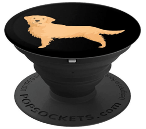 golden retriever mom pop socket