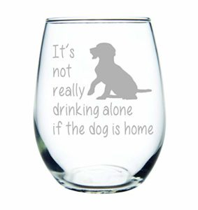 golden retriever mom wine glass