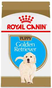 golden retriever puppy food