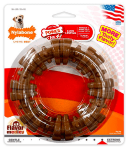 nylabone dog chew toy