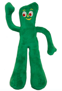 multipet gumby plush dog toy