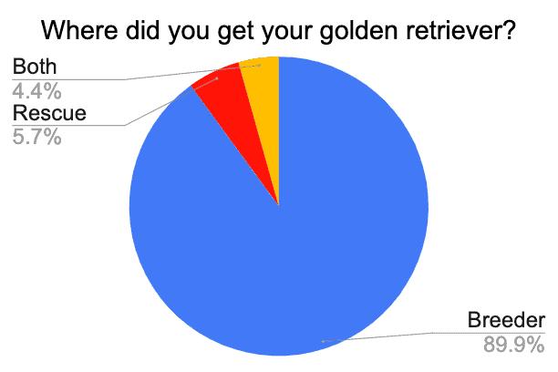 golden retriever rescue vs breeder