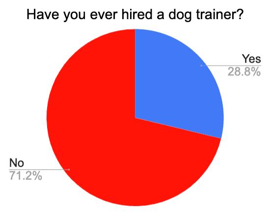 hiring dog trainer for golden retriever